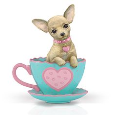 Chihuahua clipart chiwawa Tea Cup Print Just Bubble
