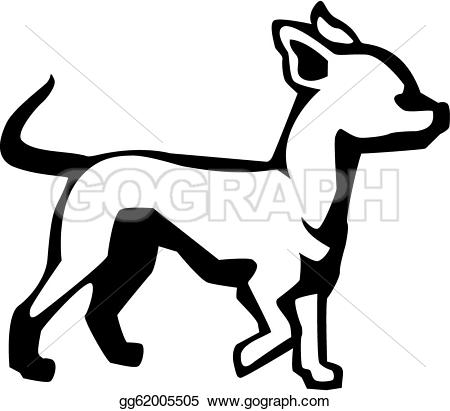Chihuahua clipart drawing Drawing Clipart Clipart gg62005505 Vector