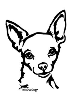 Chihuahua clipart drawing Best Chihuahua Autoaufkleber 170 Chihuahua