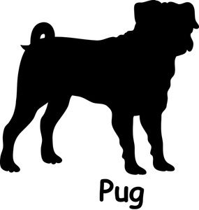 Perro clipart dog outline On Dog Image: silhouette Dog