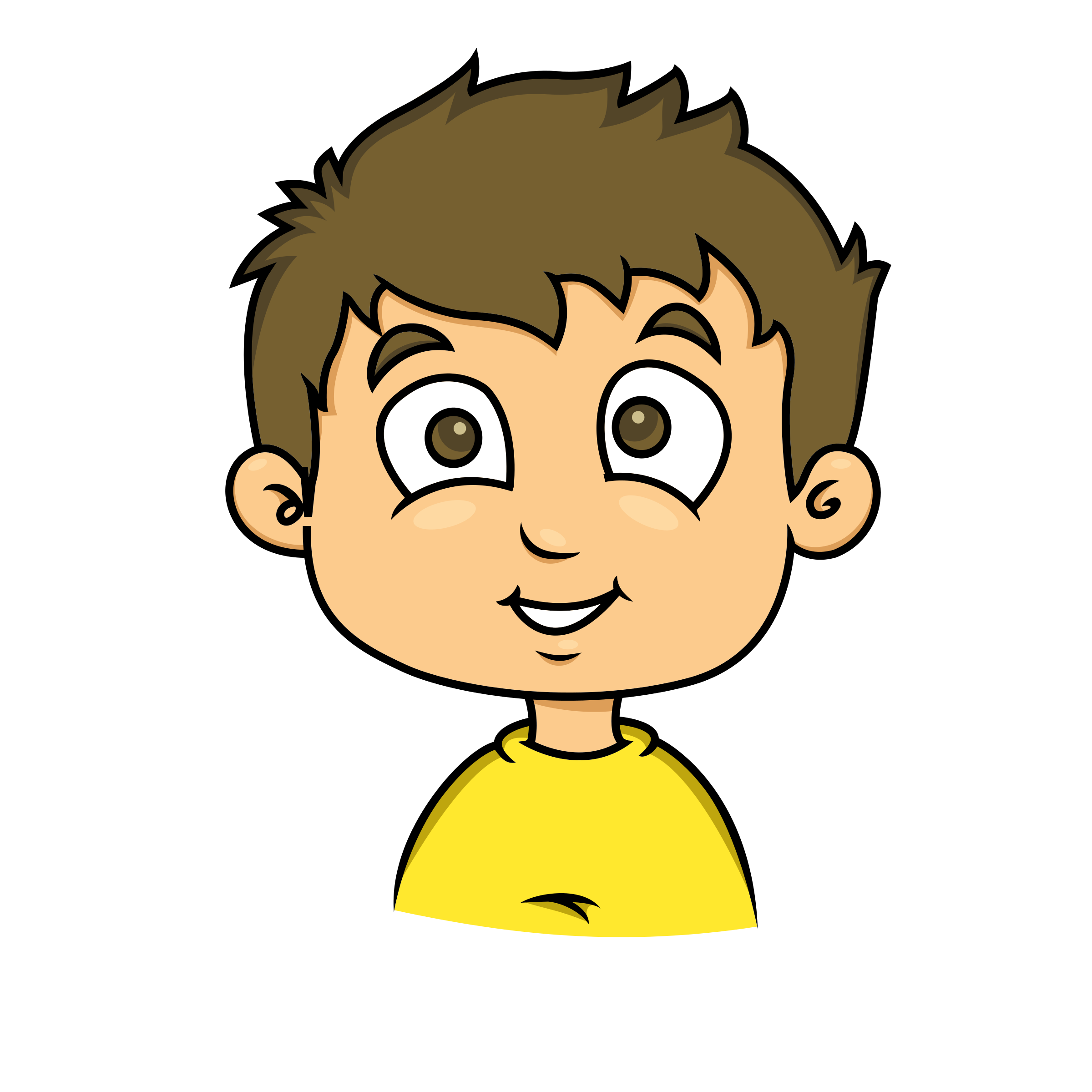 Reflection clipart kid question #6