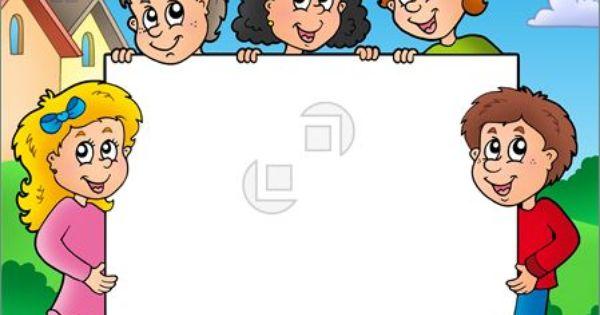 Child clipart boarder +  Clip Borders Clipart