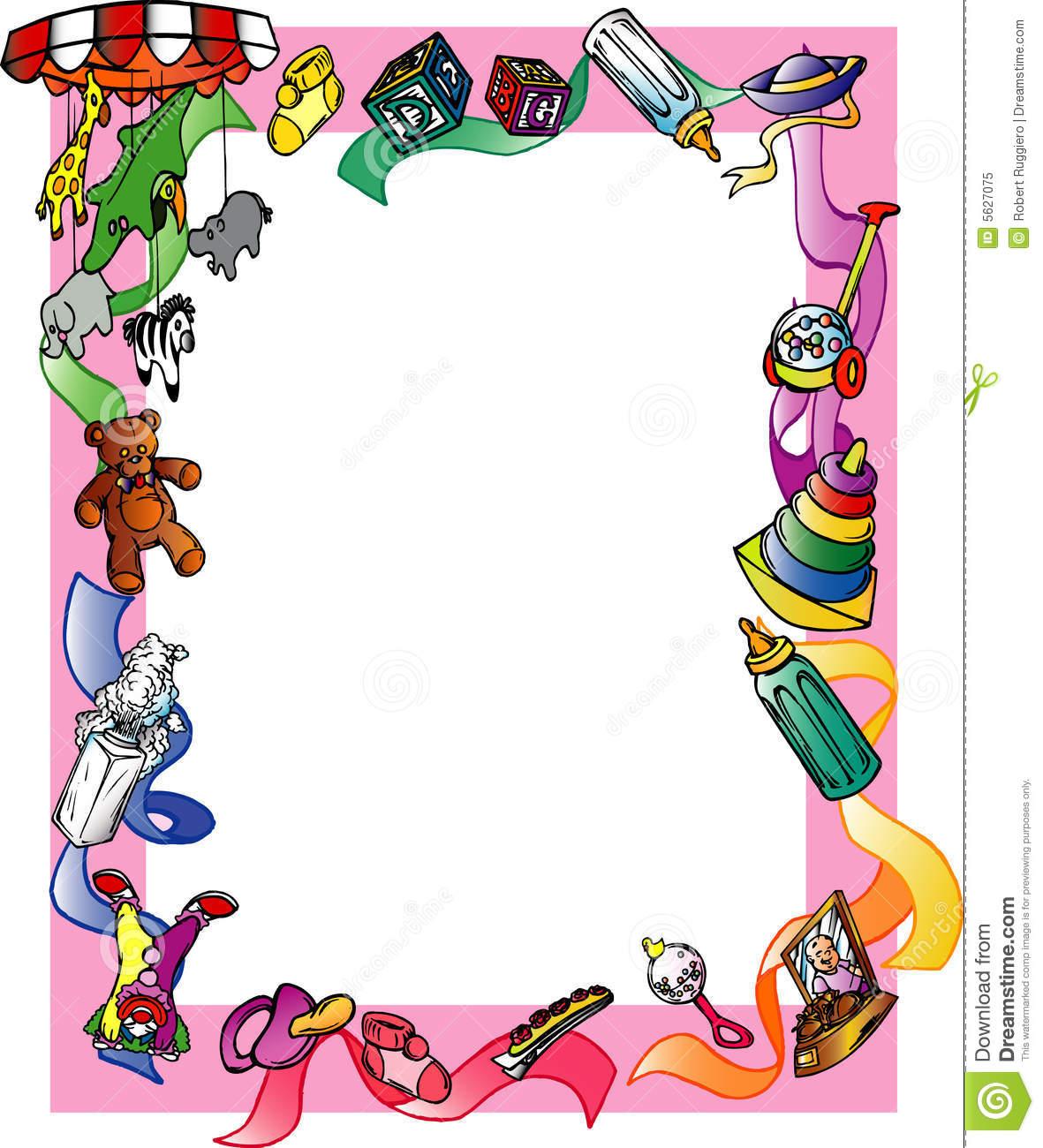 Child clipart boarder Free Children Clip Clipart Border