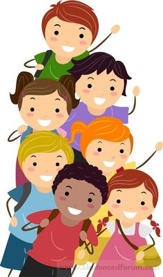 Child clipart banner şanslı cute kinds School of