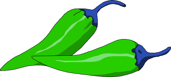 Chili clipart green capsicum Green clipart Zone pepper Chili