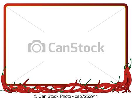 Wreath clipart chili pepper And free Illustrations Clipart Chili