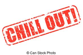 Chill clipart 351 Clipart CHILL  stamp