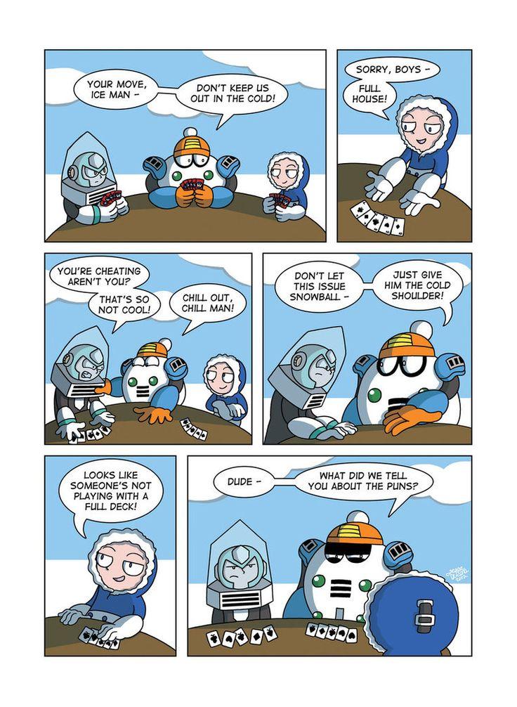 Chill clipart cold man Man/Robot Masters As Man Mega