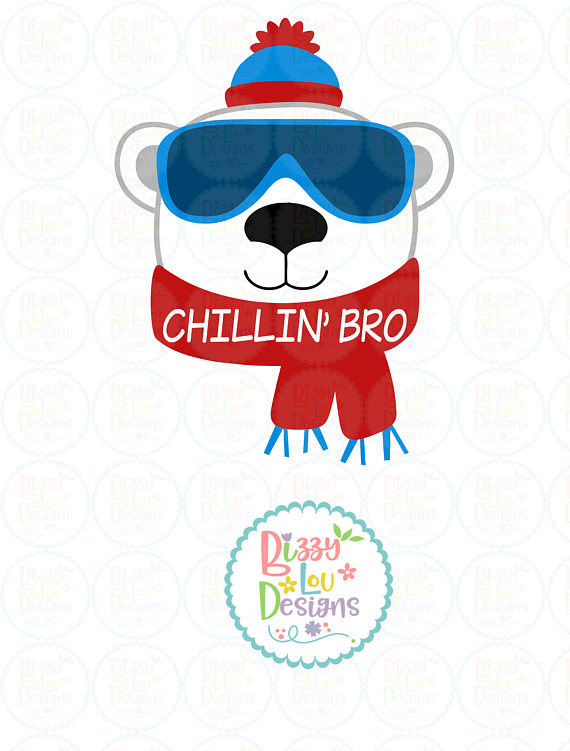 Chilling clipart cold winter Snow file from svg SVG