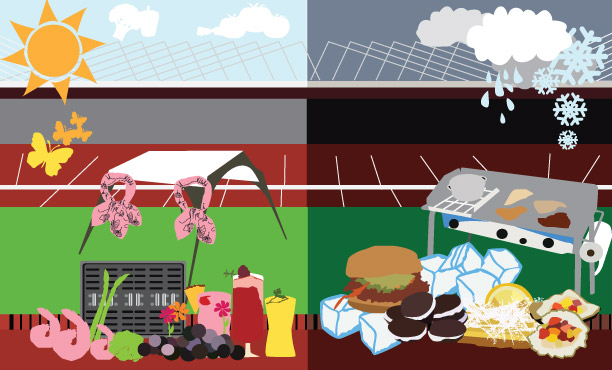 Chill clipart extreme cold And Extreme Tailgating Weather or