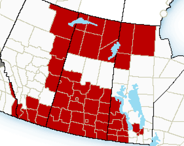 Chill clipart extreme cold Cold Saskatchewan cold  warnings