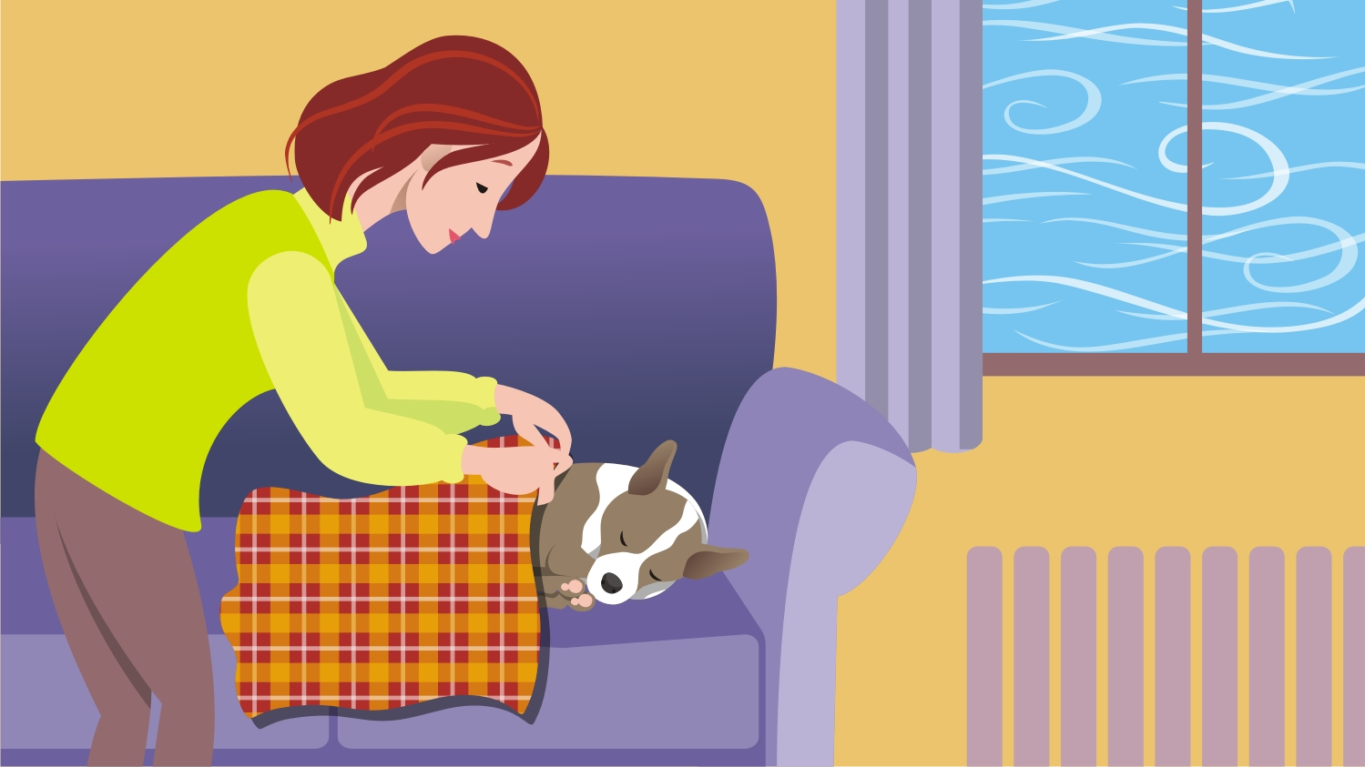 Chill clipart extreme cold Pets Illustration Harsh 04 Winter