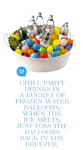 Chill clipart freezer When balloons water a party