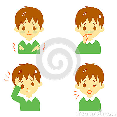 Chill clipart high fever Person And Chills clipart Fever