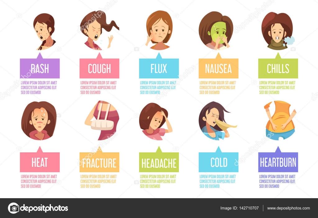 Chill clipart sick woman Vector Woman © Woman Cartoon