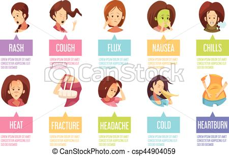 Chill clipart sick woman And Sickness  Woman of