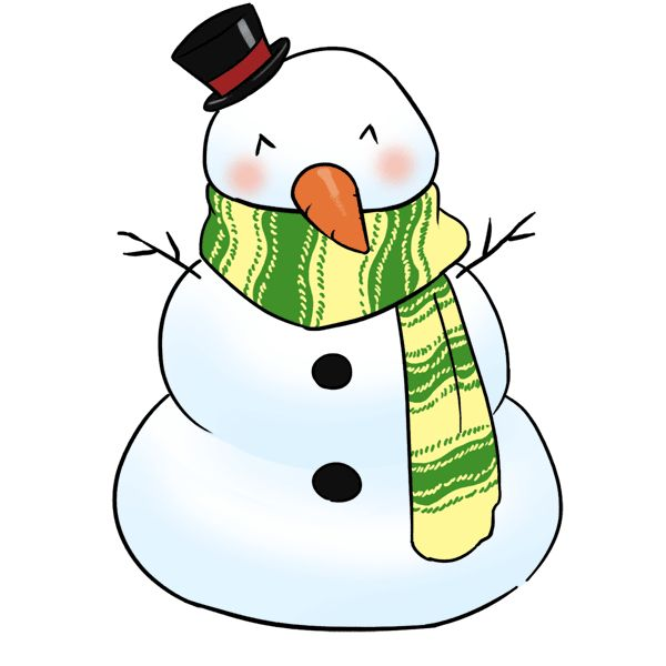 Chill clipart snowsuit Free Halloween Snowman Free Clip