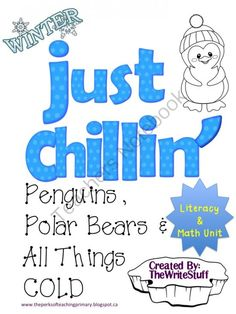 Chill clipart winter word Penguins Snowman Unit and ~