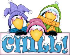 Chilling clipart  Donna (by The Penguins