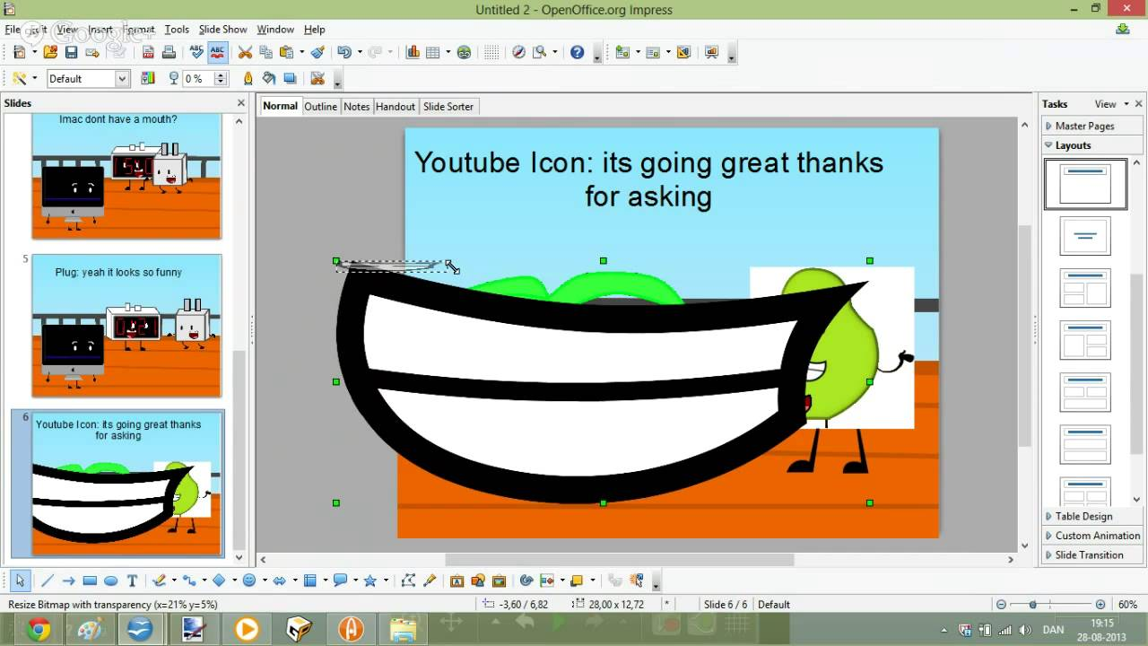 Chilling clipart i am YouTube out i Chilling i