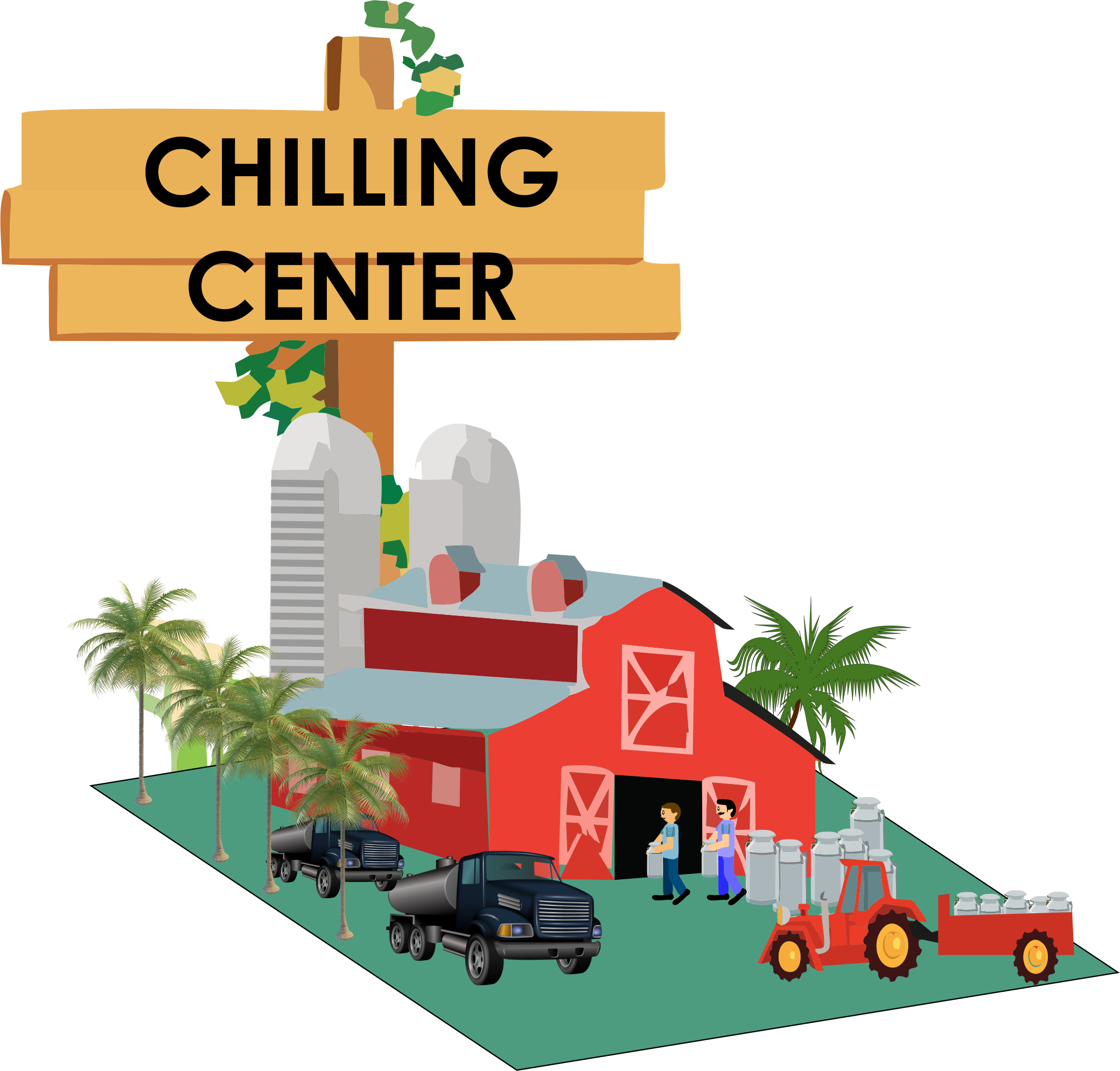 Chilling clipart i am Dairy Chilling Ubale Centre: