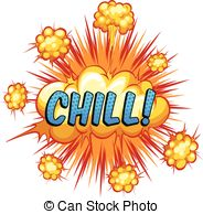 Chilling clipart winter word Clipart chill  with Royalty