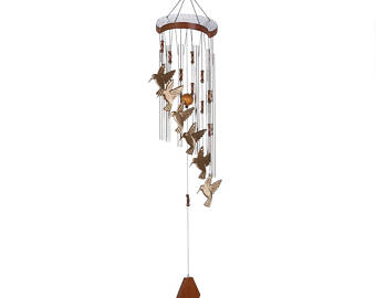 Chimes clipart metal Wind Hummingbird Chime Metal with