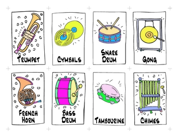Chimes clipart orchestral Instruments in games for for