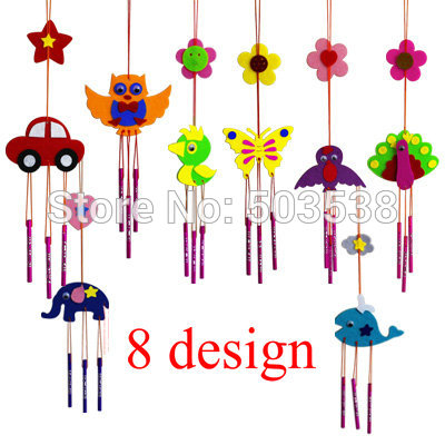 Chimes clipart wind chime DIY com felt aeolian fabric