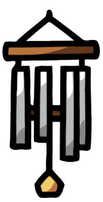 Chimes clipart wind chime Wind Scribblenauts Chimes Wind Image