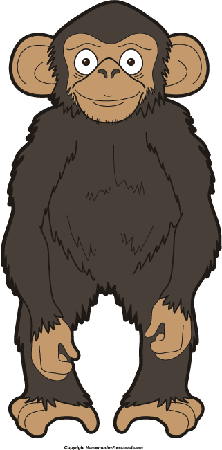 Chimpanzee clipart To Clipart Monkey Image Save
