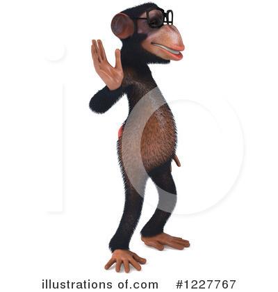 Chimpanzee clipart Free #1227767 #1227767 Chimpanzee by