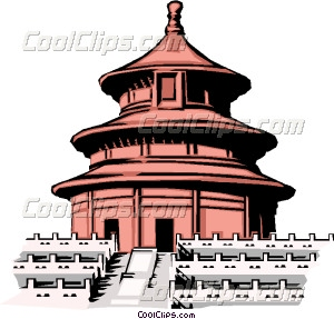 China clipart chinese building Chinese building Clip Chinese art