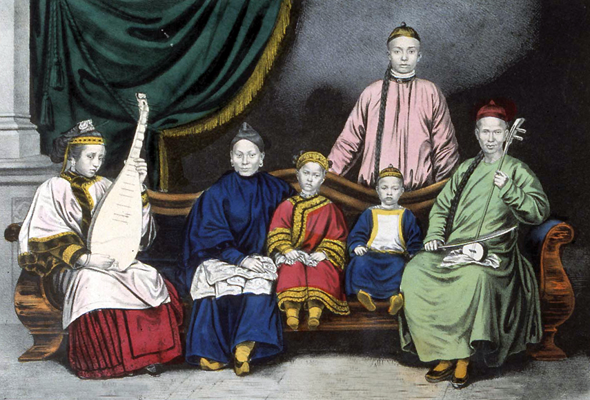 China clipart chinese family Chinese china family Family Chinese