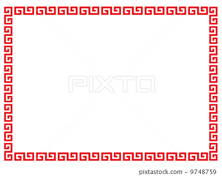 China clipart chinese frame Chinese pattern  9748759 vector