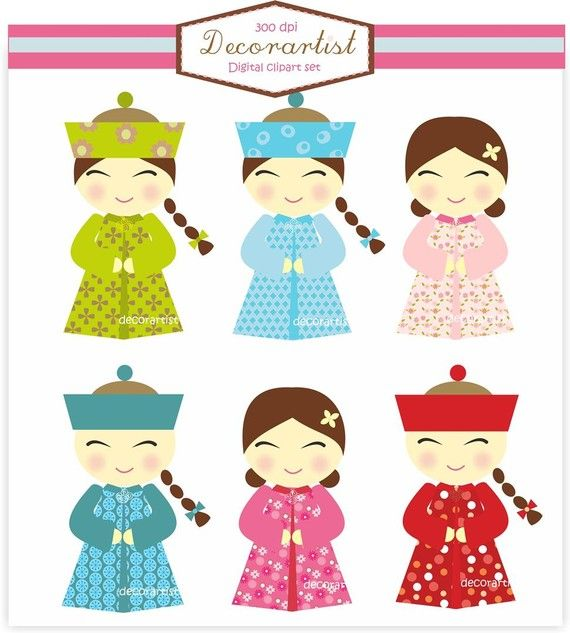 China Doll clipart Best on INSTANT Download dolls