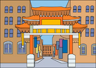 China Town clipart chinese pagoda Canada Search china Toronto Size: