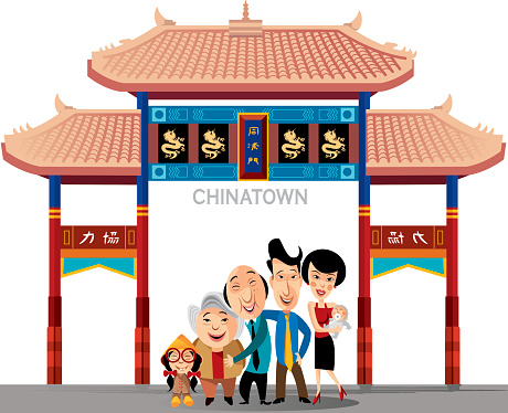 China Town clipart cartoon Filename: Art jpg Search Images