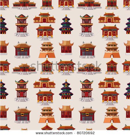 China Town clipart chinese palace Search house Pinterest Google chinese