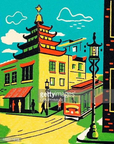 China Town clipart Francisco Chinatown Clipart me Chinatown
