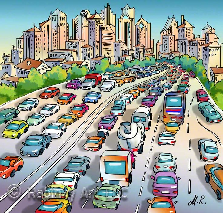 China Town clipart traffic jam Jam❤ on Jam❤ Pin ❤️Traffic