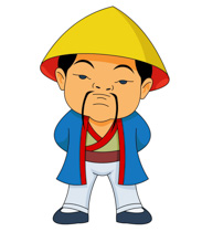 Asian clipart chinese person Ancient China Size: Clipart China