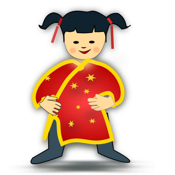 Asians clipart chinese person #4