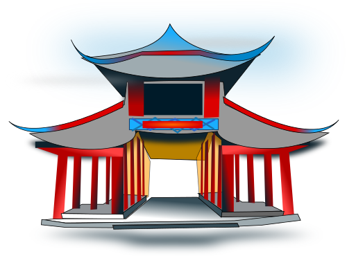 Chinese clipart arch 31 Download Page Architecture Arch