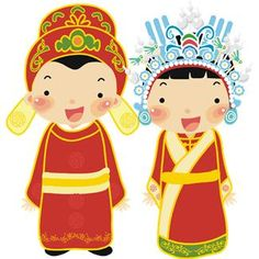 Chinese clipart bride and groom Chinese Clipart Groom (9+) wedding