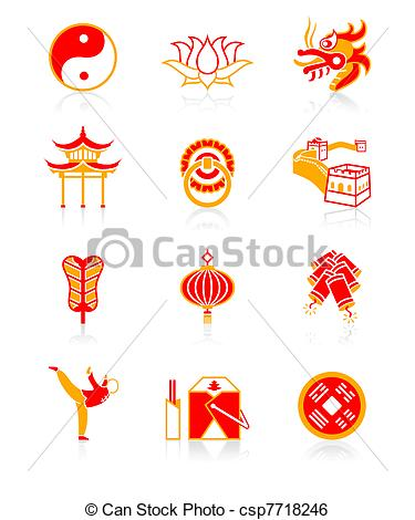 China clipart chinese culture Culture icons  series Chinese