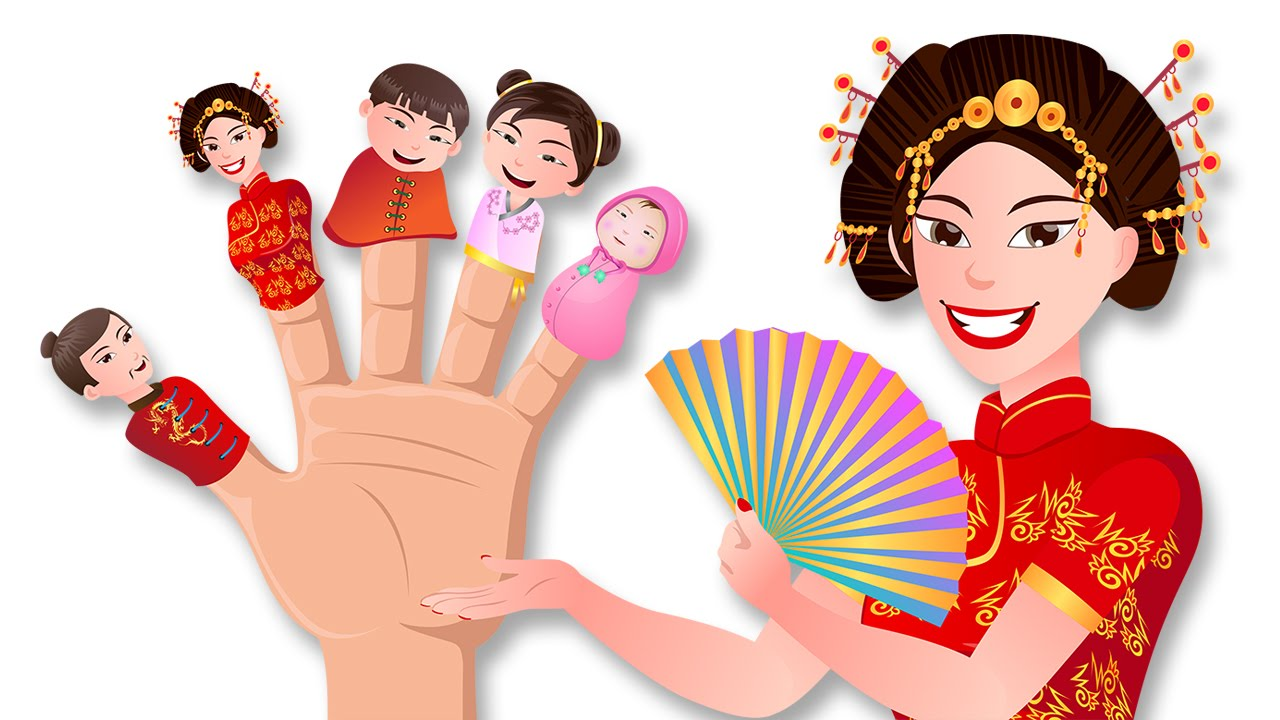 China clipart chinese family Family Family Baby Chinese Fingers