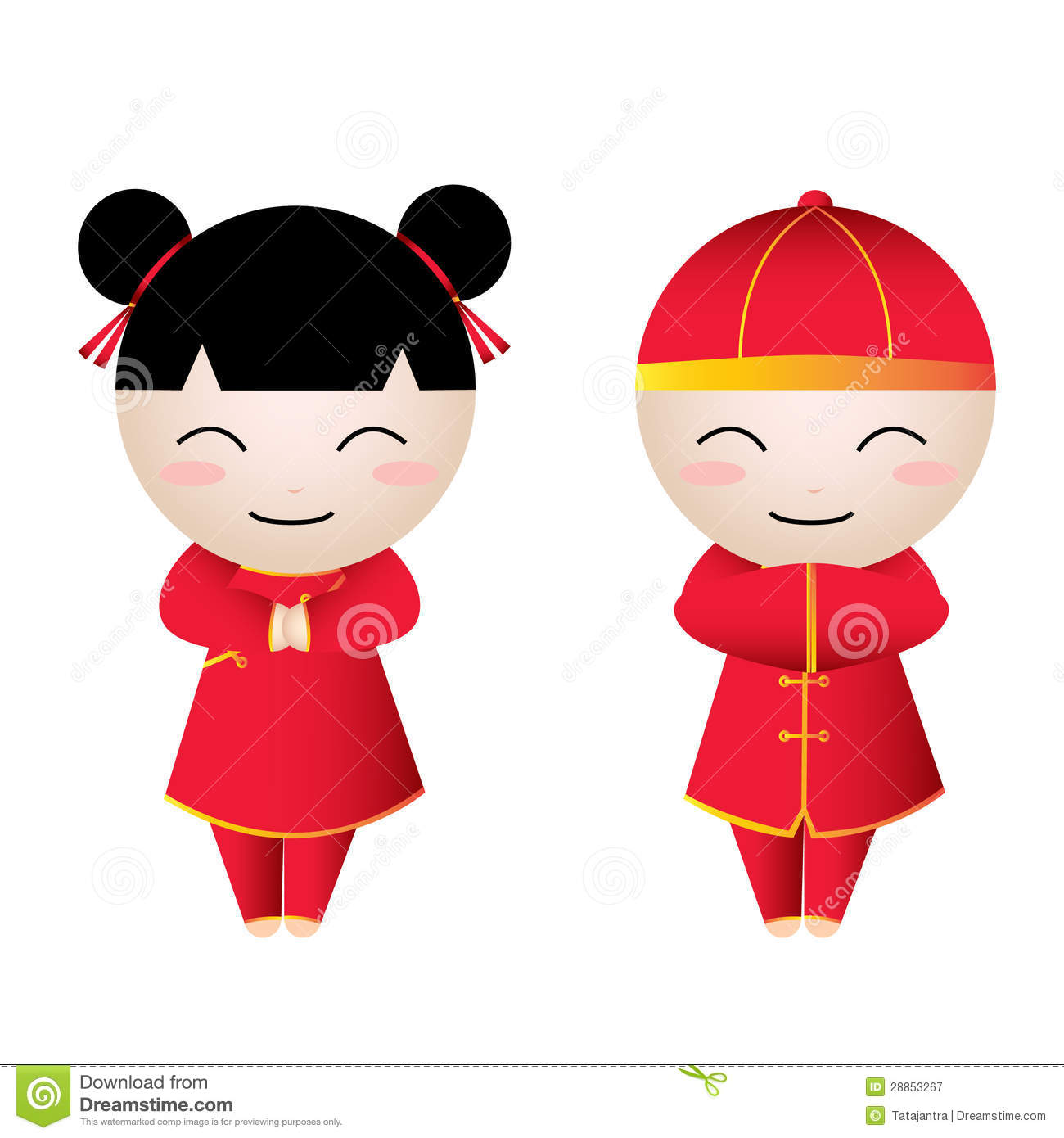 Asians clipart chinese kid #1