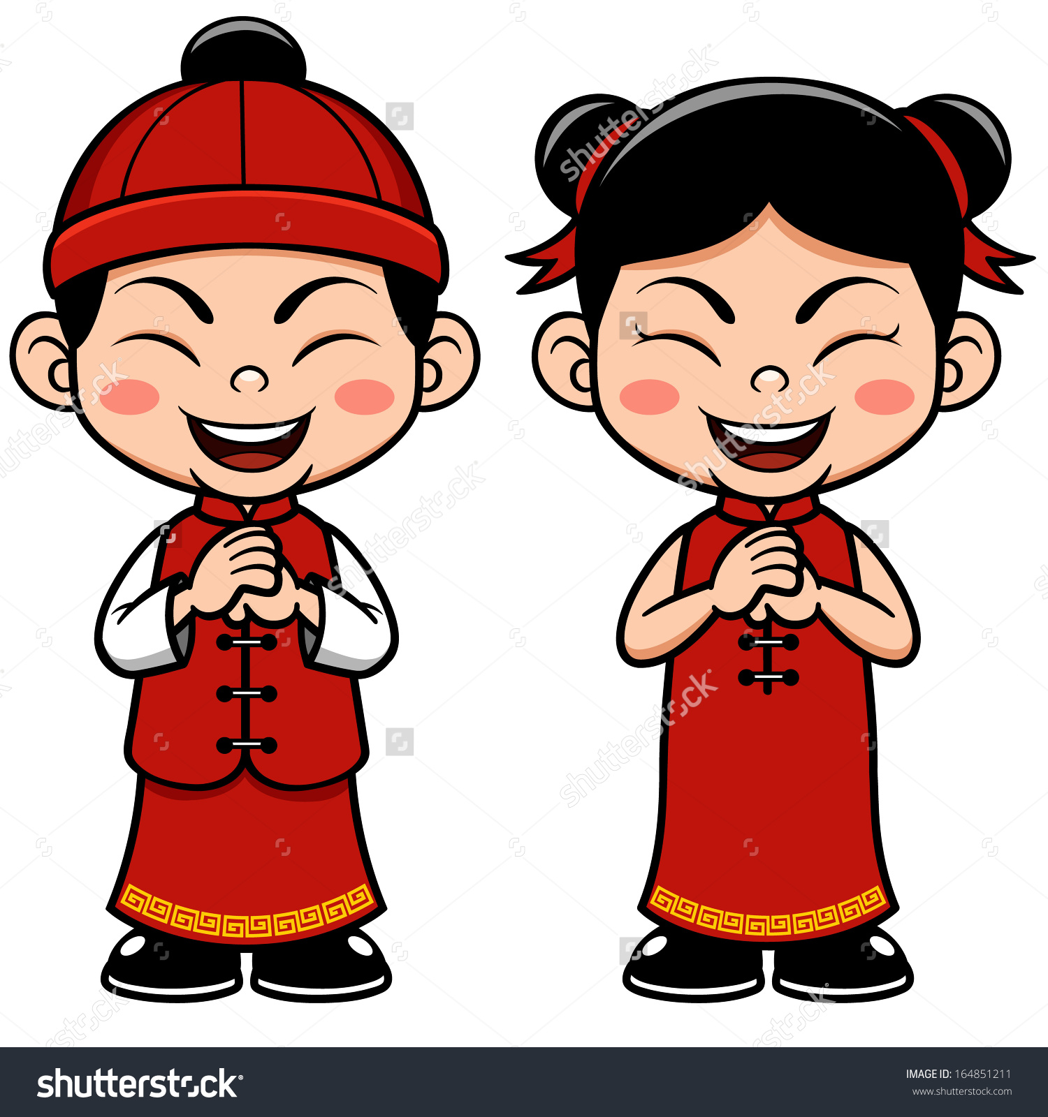 Asian clipart china Clipart collection Love costume chinese