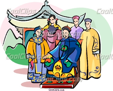 China clipart chinese family The Clipart emperor emperor (55+)